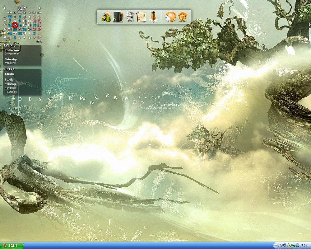 Desktop by Sasaji
