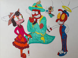 Carnival mafia trio