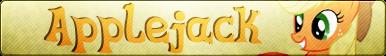 Applejack - Button by TechBrony