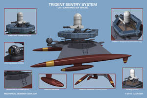 Trident - USV detail by HeavyMetalDesigner