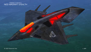 Nod Stealth Aircraft Concept