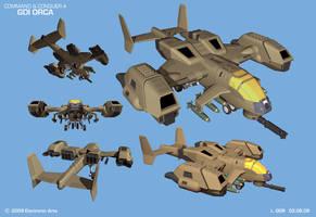 CNC4 - GDI Orca Concept by HeavyMetalDesigner
