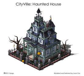 CityVille Haunted House by HeavyMetalDesigner