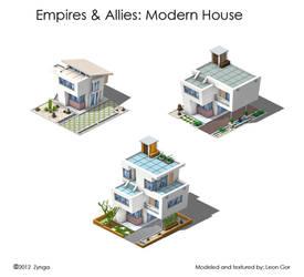 EmpiresAllies ModernHouse by HeavyMetalDesigner