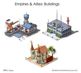 EmpiresAllies Buildings by HeavyMetalDesigner