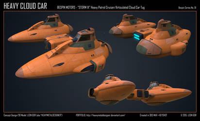 Heavy Cloud Car by HeavyMetalDesigner