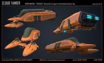 Cloud Tanker by HeavyMetalDesigner