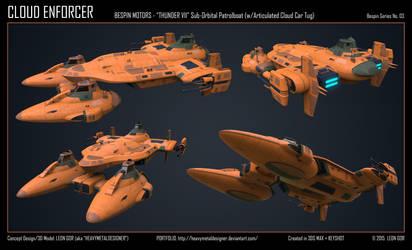 Cloud Enforcer by HeavyMetalDesigner
