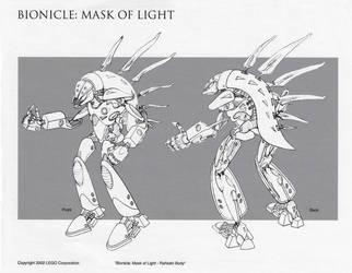 Bionicle Rahkshi Body by HeavyMetalDesigner
