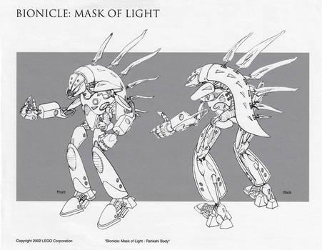 Bionicle Rahkshi Body