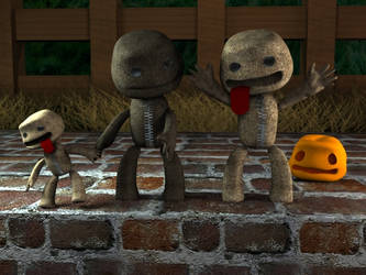 Sackboy in 3D by artlantic