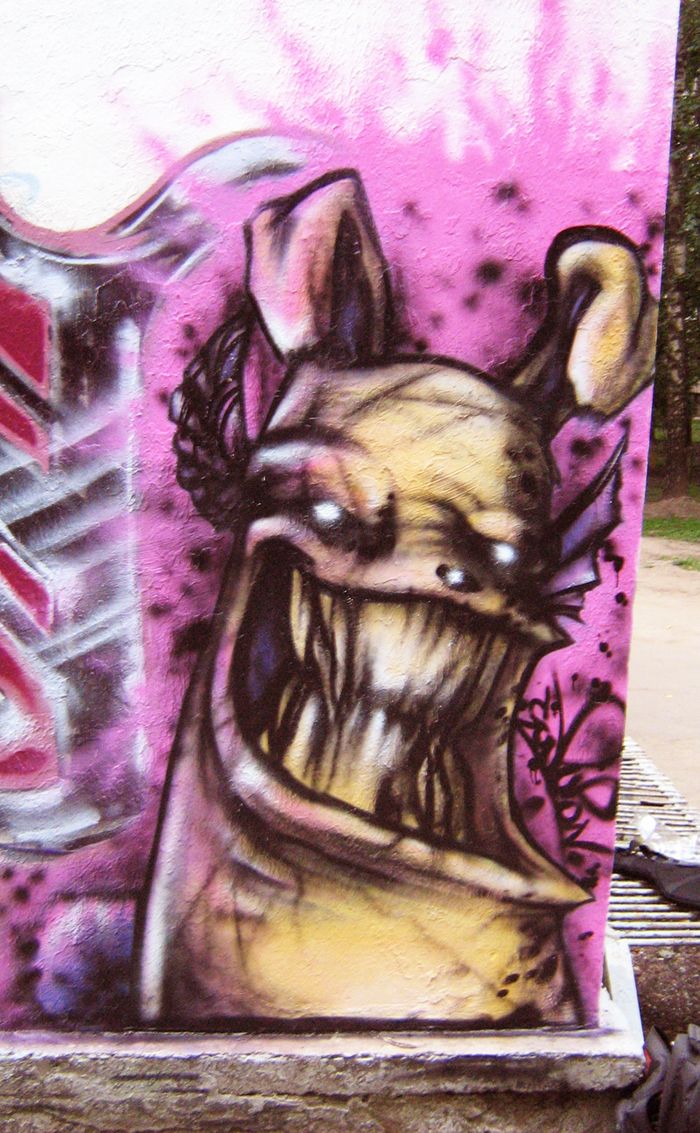 Dog+Rabbit+Demon by ClodPupon