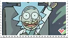 [STAMPS / RnM] Tiny Rick by creationcomplex