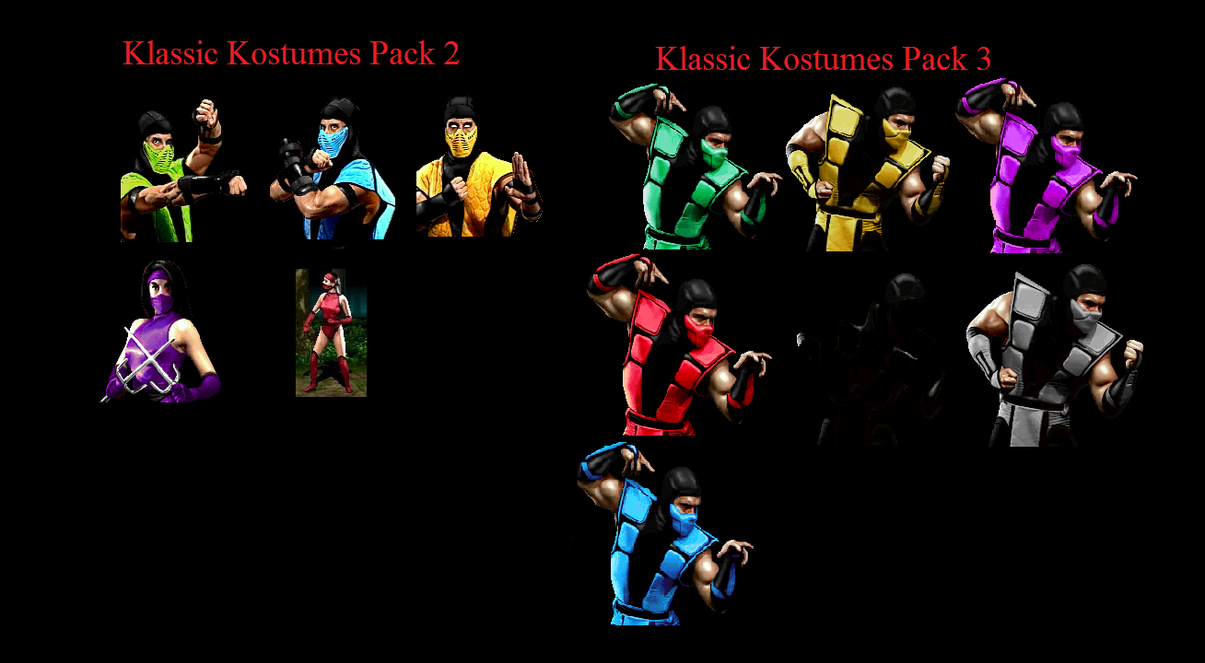 Mortal Kombat Kostume Proposal by Canovoy