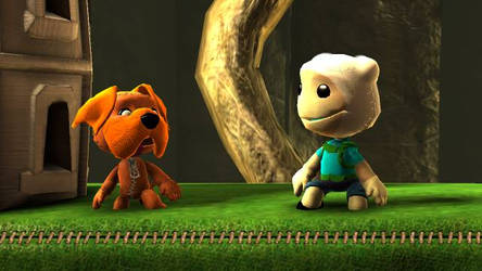LBP Finn and Jake by Canovoy
