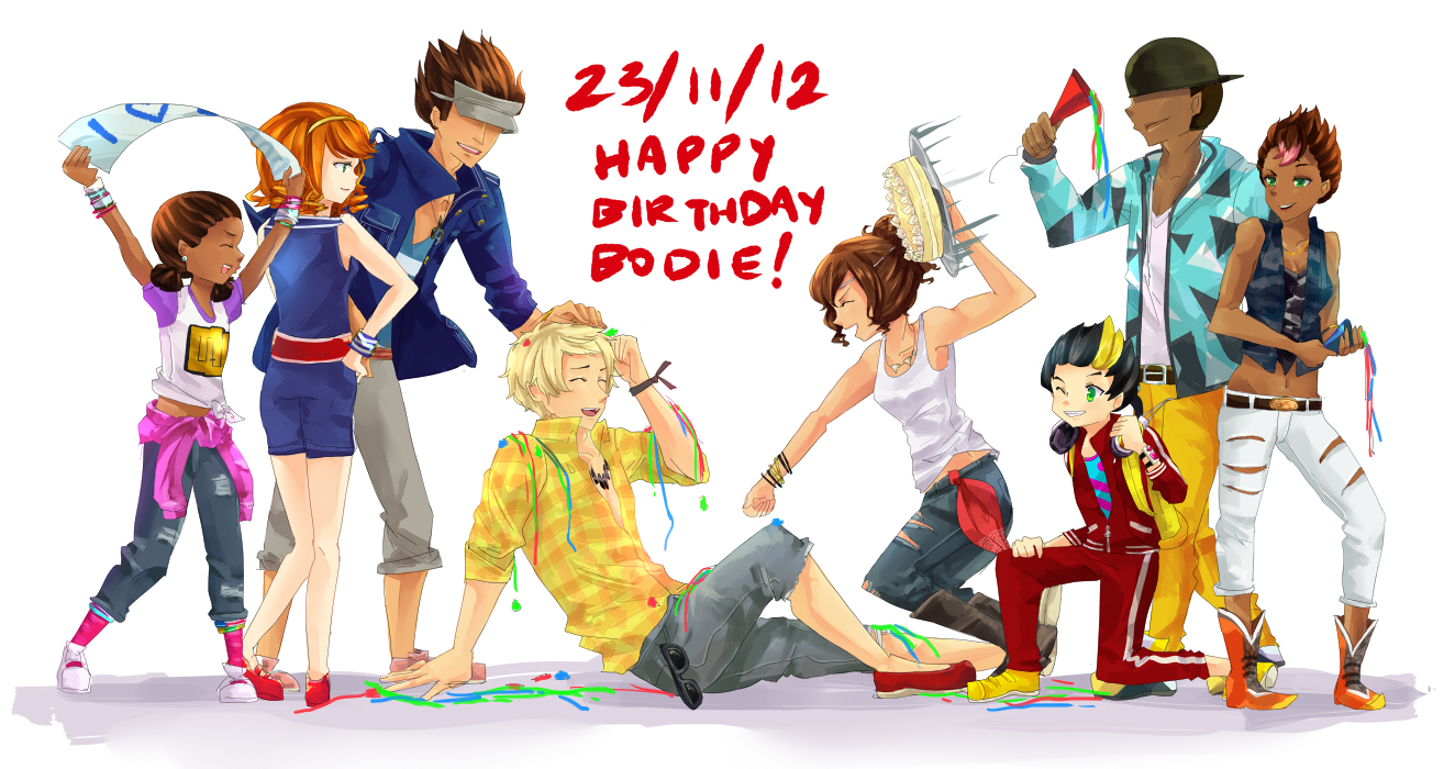 dance central: HAPPY BIRTHDAY BODIE! by moondazzle