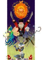 ROTG: Guardians Assemble!! by moondazzle