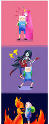 AT: Adventure Time with Finn and... by moondazzle