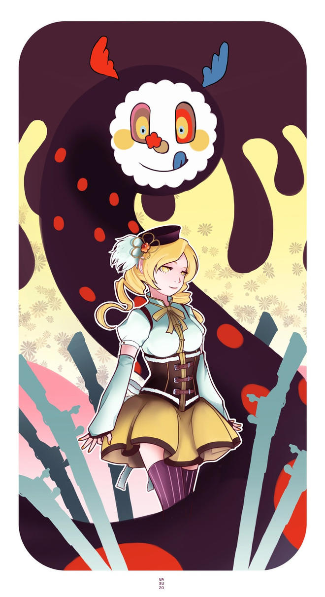 Mami Tomoe by Basu-zo