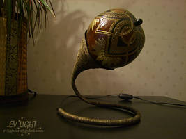FLORUAN gourd lamp day by EvaLightArt