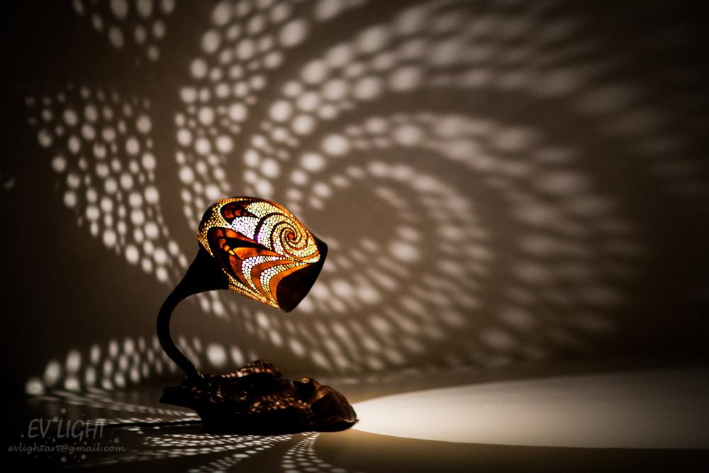 Gourd Lamp EvaLight 3.0.2 At Night By EvaLightArt ...