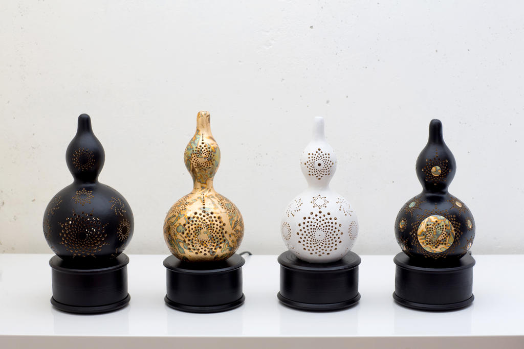 November Collection Of Gourd Lamps By Ev Light By EvaLightArt ...