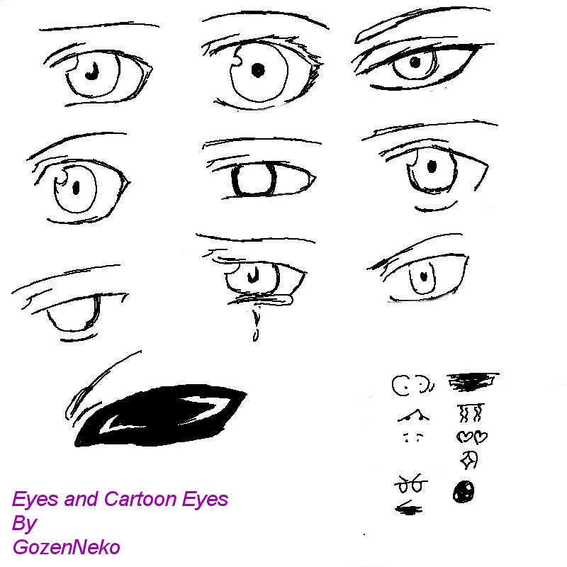 Eyes Challenge By GozenreijiNeko On DeviantArt