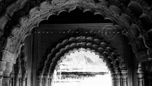 arched corridor by ranan-rains