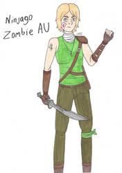 Ninjago Zombie AU Pt. 1 - Lloyd by AnimeGeek15