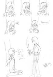 Ninjago Zombie AU Pt. 3 - More Lloyd and Harumi by AnimeGeek15