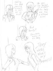 Ninjago Zombie AU Pt. 4 -  Lloyd and Harumi again by AnimeGeek15