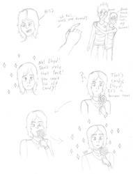 The Oni Boy AU - Lloyd Sketches by AnimeGeek15