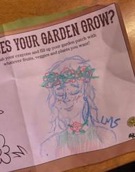 Crayon Flower Crown