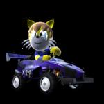 Modnation Racer Crash -in car- by Milkb0ne