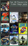 My Top 10 Video Games