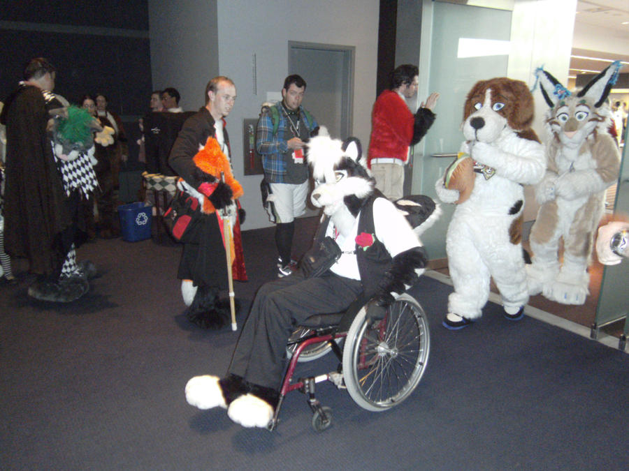 AnthroCon - Fursuit Parade 1