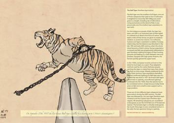 - ALREADY EXTINCT - The Bali Tiger SFW by KhaoShar