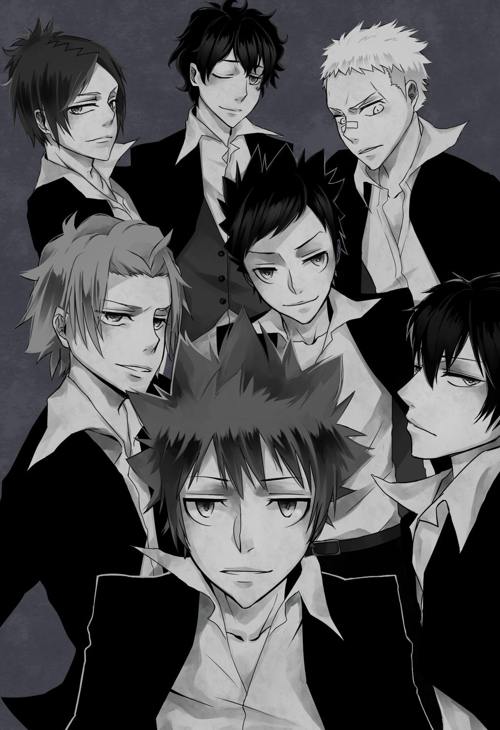 Vongola Host Club by 18skylark