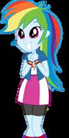 EQG Rainbow Dash Squee
