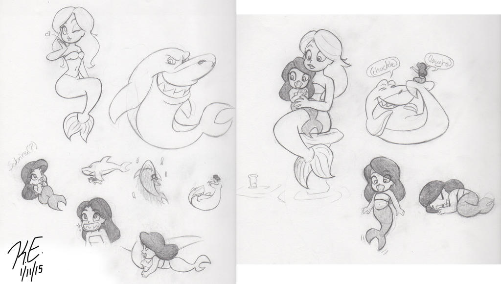 Зиг и шарко рисунки карандашом