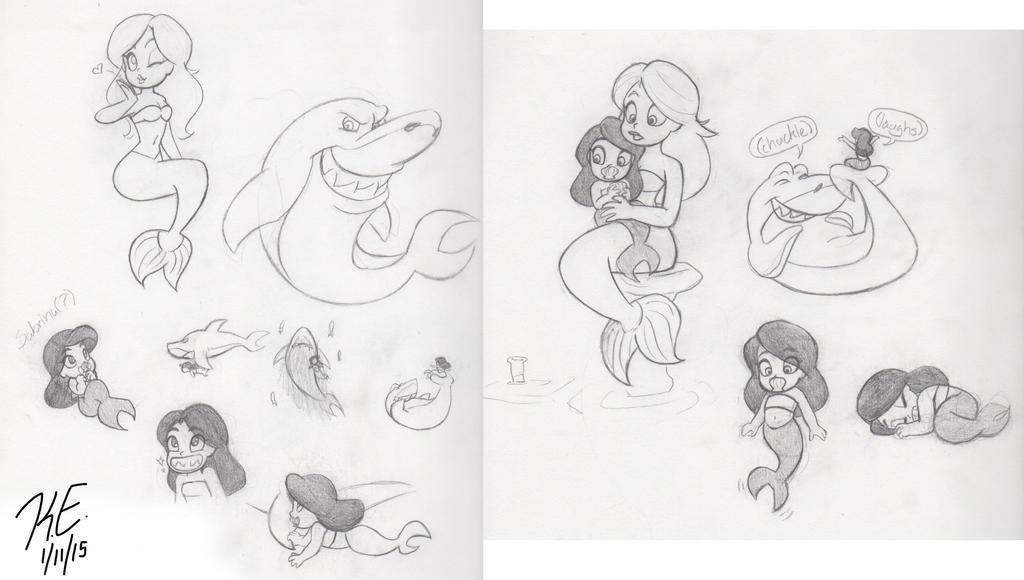 How To Draw Sharko From Zig And Sharko Drawingnow
