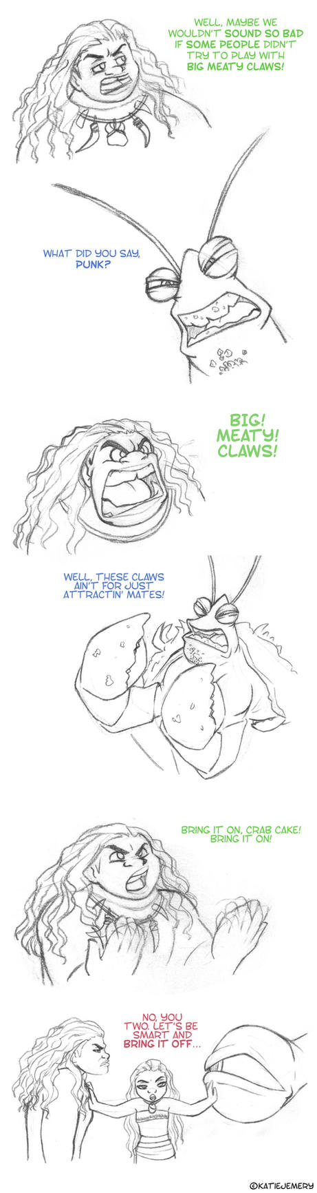 Big Meaty Claws by SilverFangedWolf