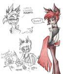 Alastor doodles