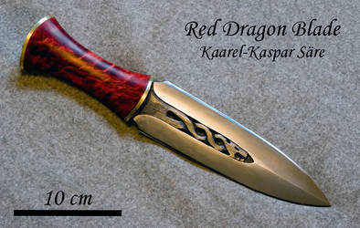 Red Dragon dagger by Ugrik