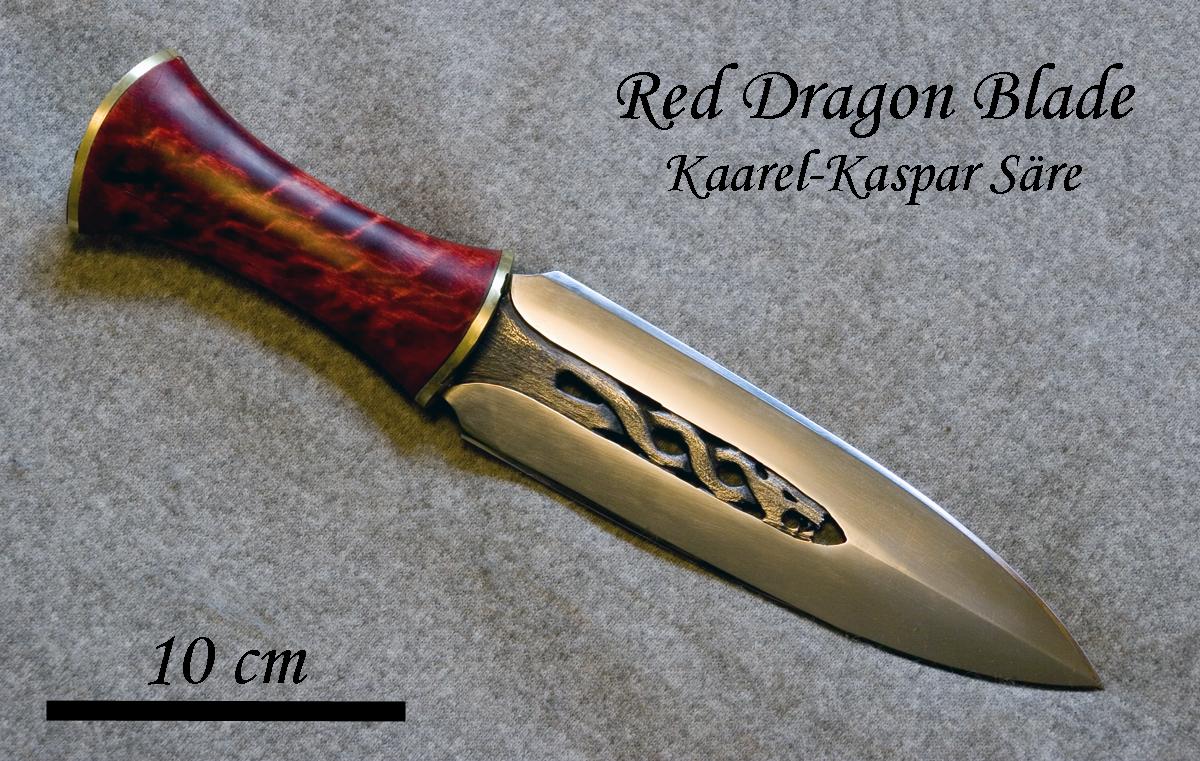 Red Dragon dagger by Ugrik