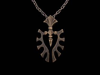 Norse Raven Pendant by Ugrik