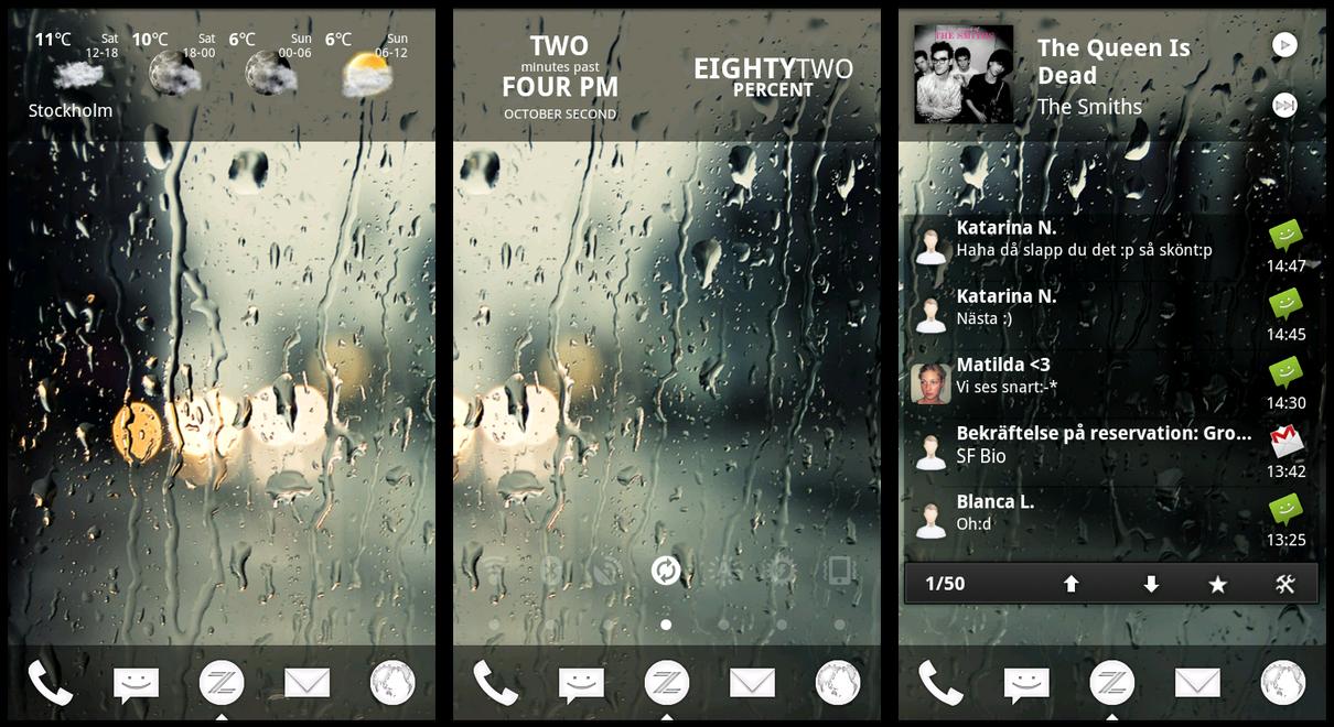 HTC Desire - Screenshot by GU5TAF