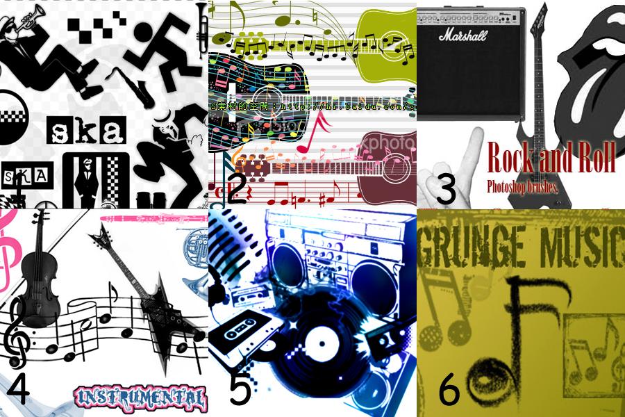 Set7: Music -  Brushes