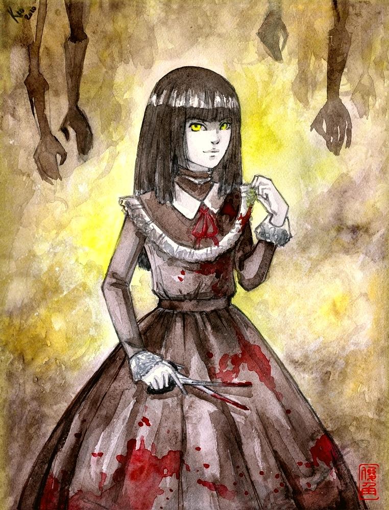 Fatal Frame IV: Ayako by Shunkaku on DeviantArt