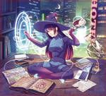 Original: Cyber Witch (Left side)